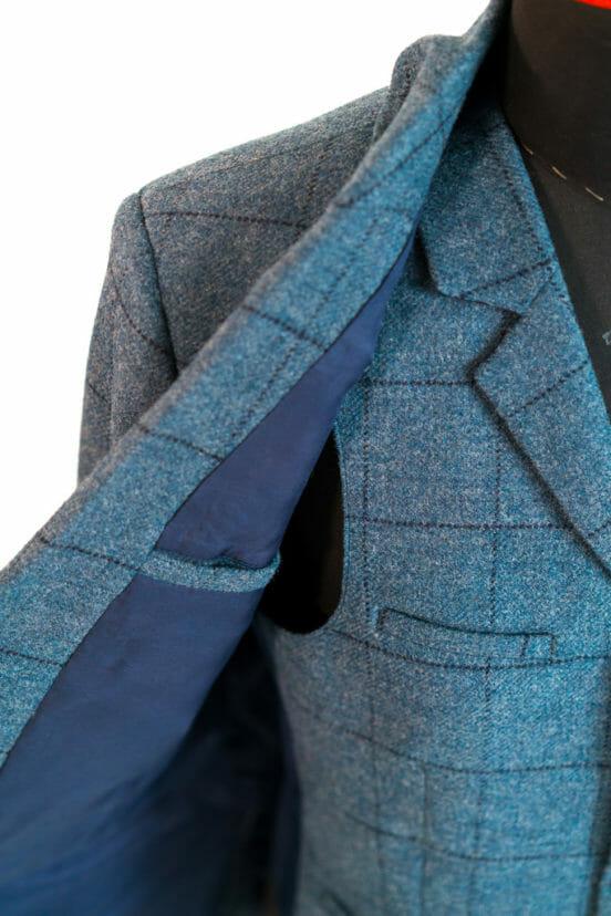 Biedermeyer Herrenschneider dreiteiliger Anzug